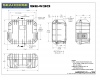 Seahorse SE-430 Waterproof Case - Technical Drawing