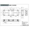 Seahorse SE-1530 Waterproof Case - Technical Drawing