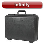 Infinity blow molded cases